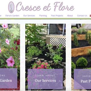 Cresce et Flore Website