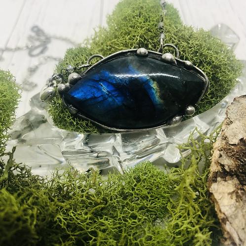 Eye of Labradorite Necklace