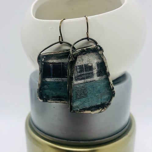 Graphic Glass Earrings 10