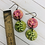 Thumbnail: Pink Garden Flower Earrings