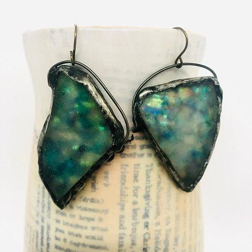 Fairy Glass Earrings Large