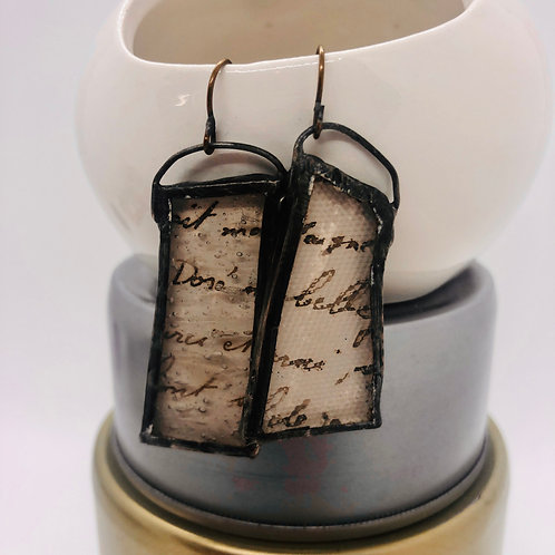 Graphic Glass Earrings 9