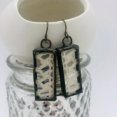 Vintage Lace Earrings - Mult Styles