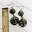 Thumbnail: Black and Gold Goddess Earrings