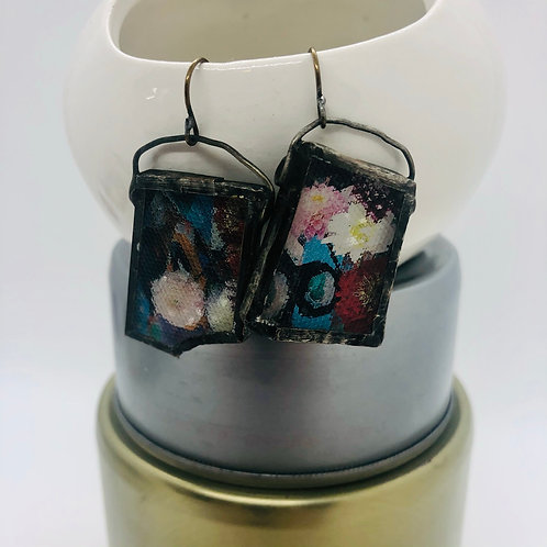 Graphic Glass Earrings 5