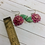 Thumbnail: Pink Rose Earrings