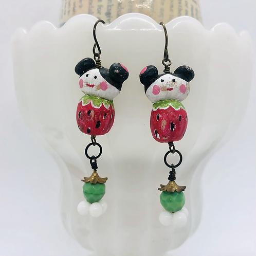 Strawberry Girl Earrings