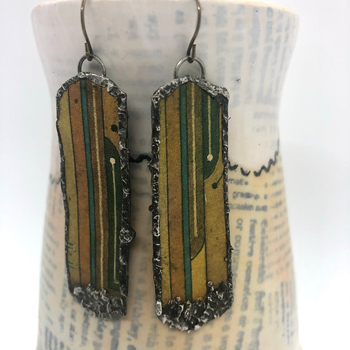 Long Tin Earrings 9