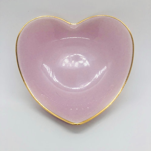Pale Pink Heart Dishes