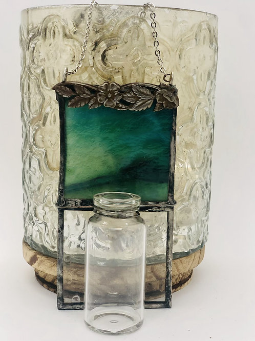 Vintage Inspired Glass Vase