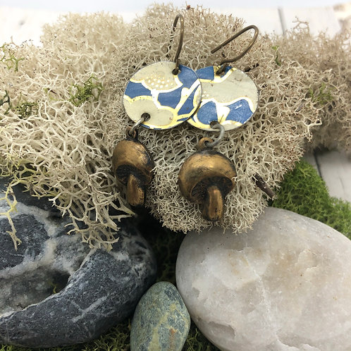 Mushroom Earrings