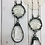 Thumbnail: Chandelier Drop and Lace Bee Necklace
