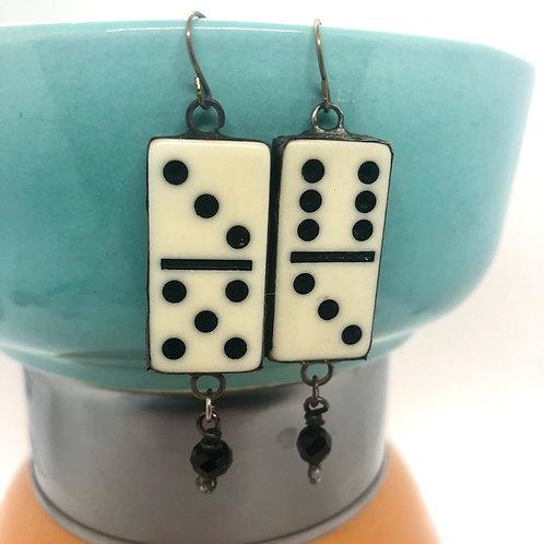 Mini Domino Earrings 3 & 6
