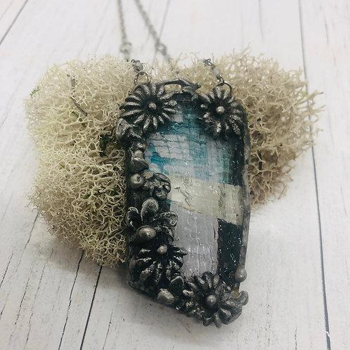 Graphic Glass Pendant