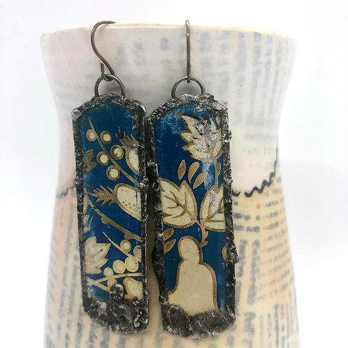 Long Tin Earrings 4