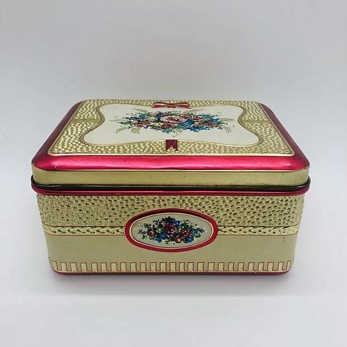 Tin Keepsake Box
