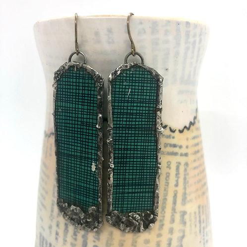 Long Tin Earrings 6