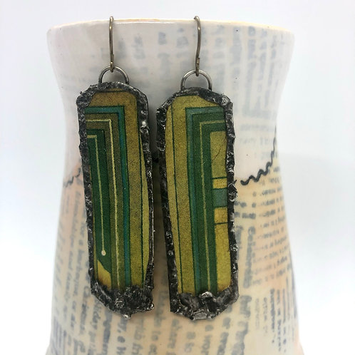 Long Tin Earrings 5
