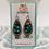Thumbnail: Tin Rain Drop Earrings - Blue Flowers