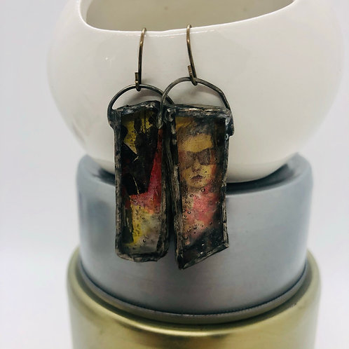 Graphic Glass Earrings 6