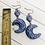 Thumbnail: Violet Moon Goddess  Earrings