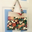 Thumbnail: Fruitcake Roll-Up Market Bag- Birds