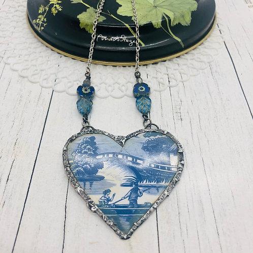 Tin Hearts Necklace - Loveboat