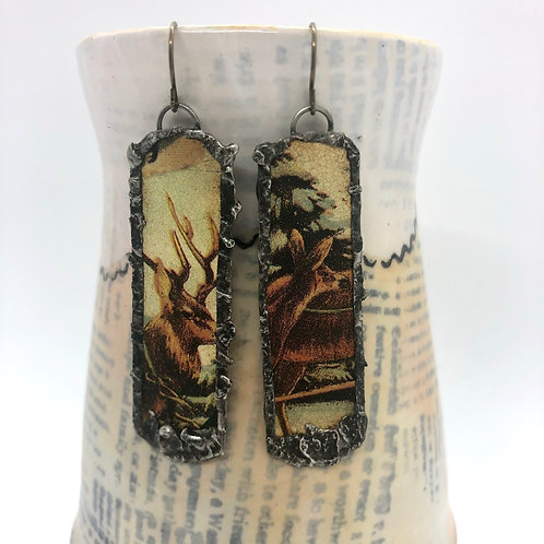 Long Tin Earrings 13
