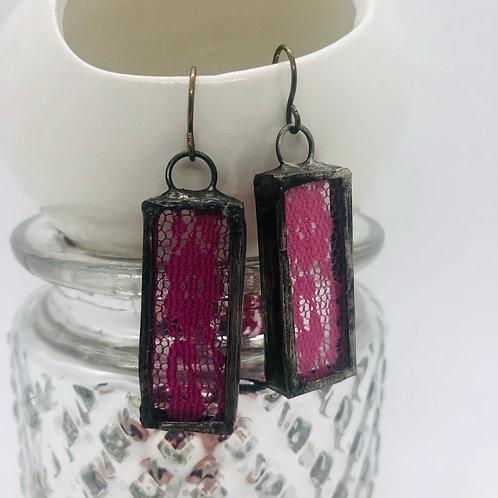 Vintage Lace Earrings- Mult colors