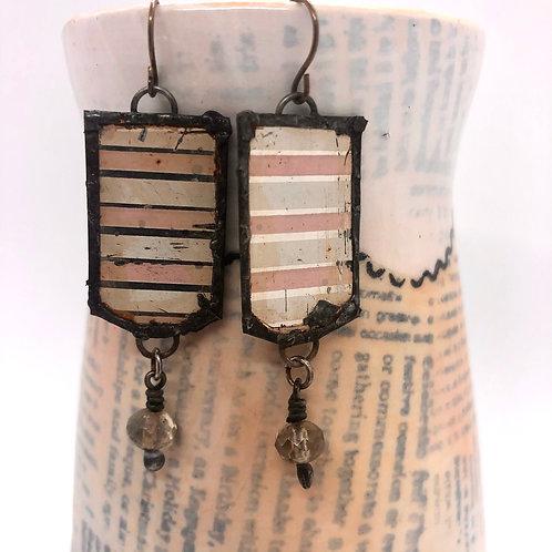 Tin & Bead Earring 5
