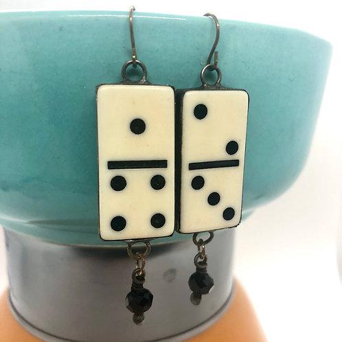 Mini Domino Earrings 1 & 2