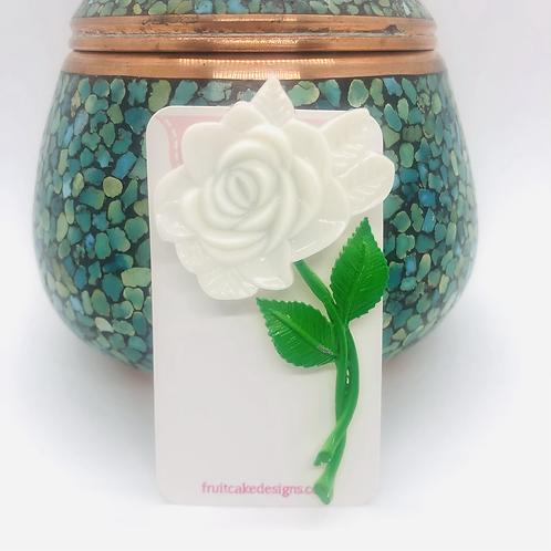 Vintage Flower Bag Pin