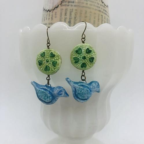 Lucky Bird Earrings Earrings