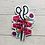 Thumbnail: Crafty For Life Sticker
