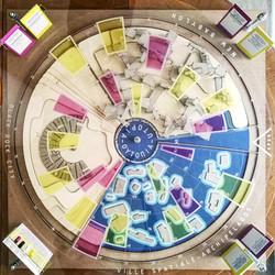 """Final model: """"BM. NB. VS."""" board game"""