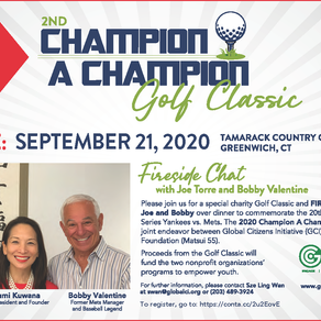2nd Champion A Champion Golf Classic: Rescheduled for September 21, 2020 at Tamarack Country Club