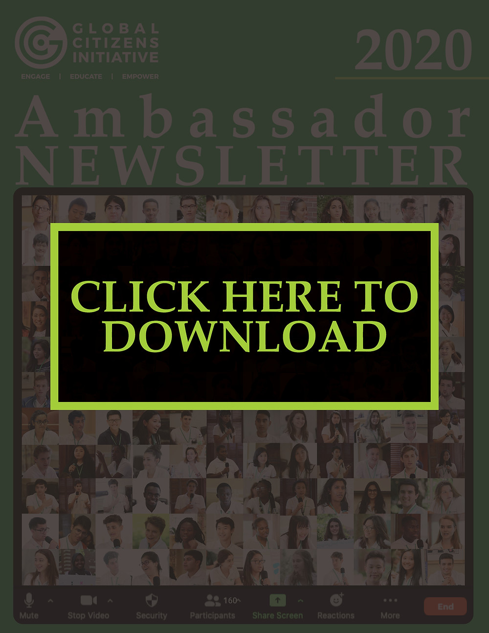 Click to Download: GCI Ambassador Newsletter 2020