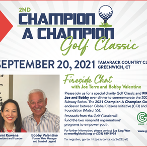 2nd Champion A Champion Golf Classic Rescheduled for NEXT YEAR (2021)