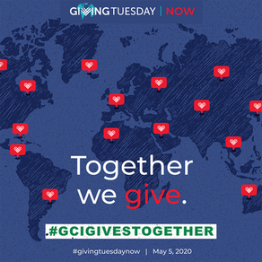 GivingTuesdayNow: Please Participate!