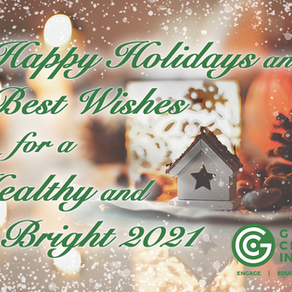 Happy Holidays and Best Wishes for a Healthy and Bright 2021!