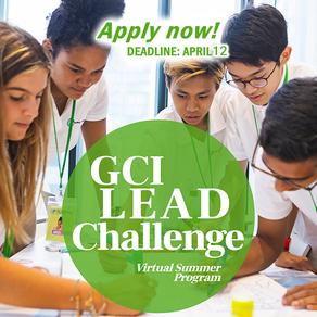 The GCI LEAD Challenge: Program Schedule & More Details