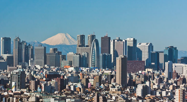 Tokyo, Japan Skyline - Google with licen