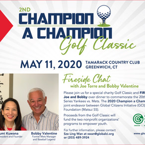 Save the Date - 2nd Champion A Champion Golf Classic: May 11, 2020
