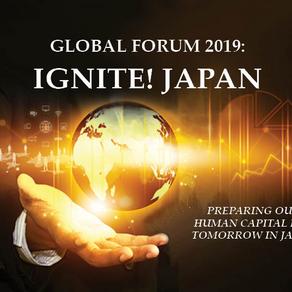 Invitation to the Global Forum 2019 IGNITE! JAPAN