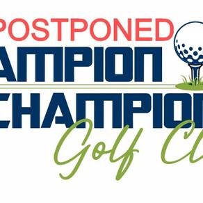 2020 Golf Classic Postponed, Rescheduled for September 21, 2020