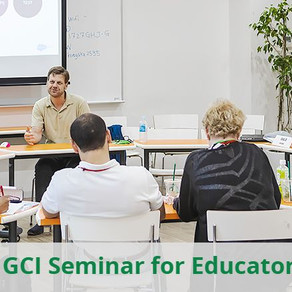 3 weeks left to apply for the GCI Seminar 2020