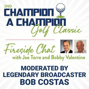 Bob Costas Moderates Joe Torre & Bobby Valentine Fireside Chat on September 20