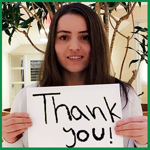 THANK YOU for empowering young global citizens on Giving Tuesday!