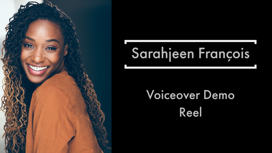Sarahjeen's Voiceover Demo Reel