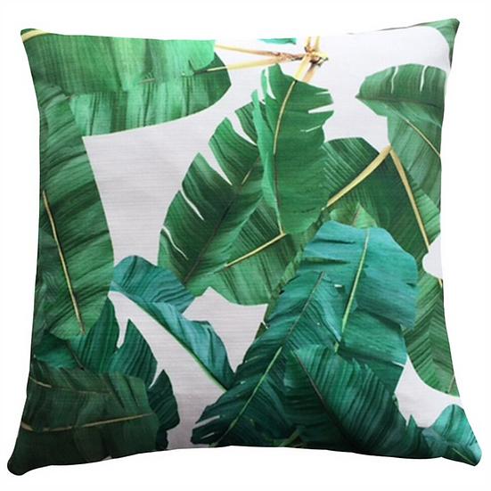 Cushion, Jungle Leaves